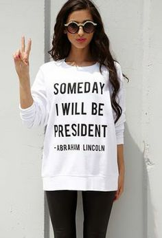 I'm President of student council, I don't need this shirt no more! Then again, i'm leaving DCSW...