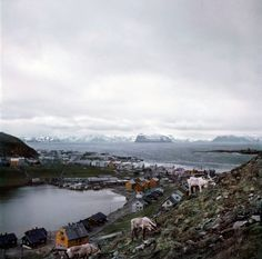 Robert Capa - NORWAY. 1951. Hammerfest.