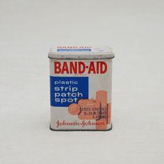 Vintage Band-Aid Tin.