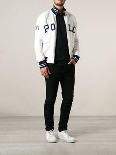 Polo Ralph Lauren Logo Zipped Cardigan - Farfetch.com
