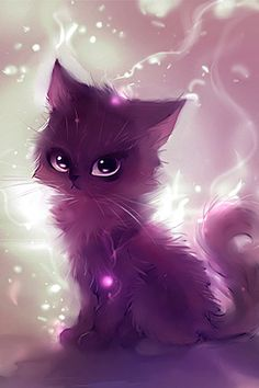 I often draw anime. And I often draw animals. Usually, I draw animals with anime-like feature like this cat. Manga Art, Manga Anime, Anime Art, Cute Drawings, Animal Drawings, Drawing Animals, Anime Animals, Cute Animals, Animal Paintings