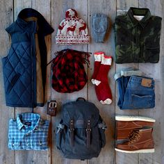 Shopping for the really rugged guy? Check out the blog at blog.ae.com for great gift ideas.