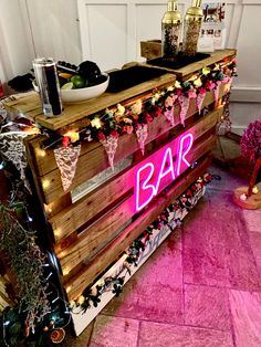We have the perfect bar for your indoor venue! Hire our pallet bar today to ensure your guests receive funky drinks for the entire evening, click the link for more details Hens Party Themes, Bar Hire, Pallet Bar, Mobile Bar, Car Wash, Celebrity Weddings, Wedding Inspiration, Indoor, Drinks