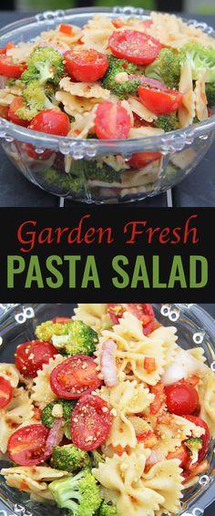 Garden Fresh Pasta Salad Recipe