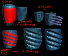 FAQ: How u model dem shapes? Hands-on mini-tuts for mechanical sub-d AKA ADD MORE GEO - Page 109 - Polycount Forum