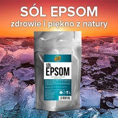 Sól Epsom, czyli siarczan magnezu, jest jednym z najlepiej przyswajalnych źródeł tego pierwiastka. Poznaj 10 prostych sposobów na jego wykorzystanie. Health Tips, Health Care, Pepsi, Remedies, Health Fitness, Hair Beauty, 1, Skin Care, Healthy