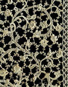Crochet Irish &: merletti di Burano. LACE isola di Burano.
