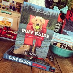 Excellent guide book on where you can take your pet camping with you this summer!