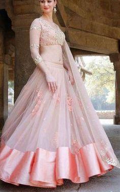 Youdesign Cotton Silk Net Lehenga Choli In Baby Pink Colour Size Upto 66 Indian Wedding Outfits, Bridal Outfits, Indian Outfits, Bridal Dresses, Party Outfits, Party Dresses, Bridesmaid Dresses, Red Lehenga, Bridal Lehenga