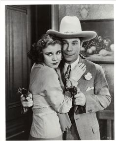 Ginger Rogers and Joe E. Brown The Tenderfoot