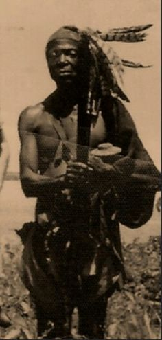 Black Native American Indian - A.K.A. WHAT THE REAL TRIBE OF GAD LOOKS LIKE, NOT THE WHITE RENDITION PROMOTED BY EDOMITE MEDIA!!
