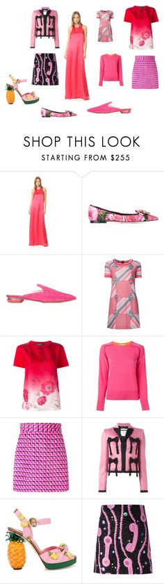 """Fashion rich"" by emmamegan-5678 ❤ liked on Polyvore featuring Baja East, Dolce&Gabbana, Nicholas Kirkwood, Missoni, Salvatore Ferragamo, Sacai Luck, MSGM, Moschino, Jeremy Scott and vintage"