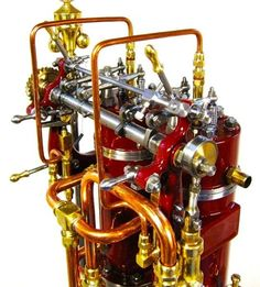 (2-cylinder 1910 B&W Diesel)