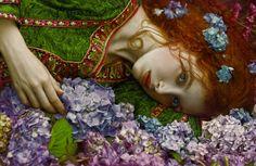 Agnieszka Lorek © Image courtesy of the artist Fantasy Photography, Pre Raphaelite, Foto Art, Buy Prints, Art Images, Her Hair, Fantasy Art, Fairy Tales, Illustration Art