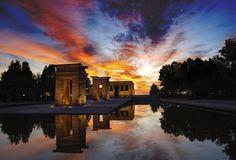 El Templo de Debod, Madrid