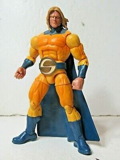 Ad - Marvel Legends infinite BAF all father series Sentry 6 inch action figure Sentry Marvel, Marvel Legends, Infinite, 6 Inches, Action Figures, Father, Winter Jackets, Play, How To Wear
