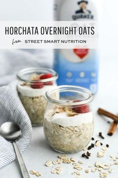 Discover the creamy & delicious taste of Quaker Oat Beverage! The new vanilla flavor is a tasty plant-based option for Lactose Free Horchata Overnight Oats. Best Breakfast Recipes, Savory Breakfast, Sweet Breakfast, Brunch Recipes, Breakfast Ideas, Breakfast Club, Lactose Free Horchata, Horchata Recipe, Oatmeal Recipes