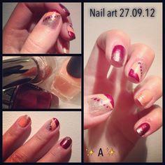 Nail art 27.09.12