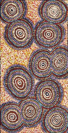 Alma Nungarrayi Granites ~ Yanjirlpirri Jukurrpa (Star Dreaming) - #aboriginal #art