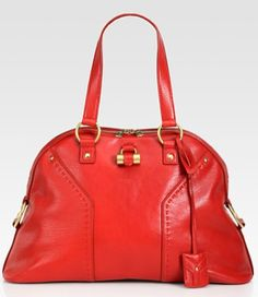 Ok, since I love red leather bags this YSL Large Muse Handbag would be perfect for me. Again, however, not in my budget at this time.