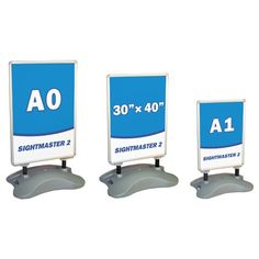 Large format forecourt sign with water fillable base. A double sided display available to fit either or posters. Order today from the UK's leading supplier of display stands. Change Meaning, Poster Display, Chalk Pens, End Of Life, Round Corner, Pavement, A0 Poster, Signs, Fitness