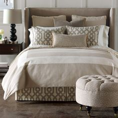 Eastern Accents Rayland Button-Tufted Bedding Collection