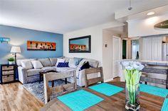 Fabulous & Relaxing 2BR Manhattan Beach Condo w/Wifi, Ocean Views & 2 Beach Cruisers Provided - Just 1/2 Block from the Beach & Walking Distance to Downtown! #travel #california