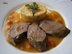 Vepřový jazyk s rozmarýnem - Naše Dobroty No Salt Recipes, Pot Roast, Pork, Meat, Ethnic Recipes, Life, Recipies, Carne Asada, Kale Stir Fry
