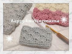 通帳ケースなどに♪3色で作るボタンループ付き収納ポーチの編み方♪Crochet☆鉤針入門☆かぎ針編み物 - YouTube