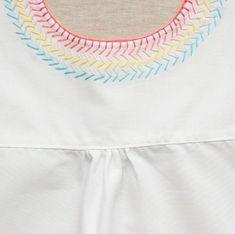 İşlemeli Kız Çocuk Pamuklu Elbise Dikimi ,  #çocukelbiselerimodelleri #evdedikişdikme #evdedikişişi #evdedikişmodelleri #kızçocukelbisemodelleri , Kız çocuklarımız için yine çok güzel bir proje var sırada. Evde kalan kumaşlardan kendileri için çok güzel işlemeli elbise modeli dikecek...