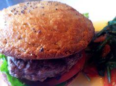 Coconut flour hamburger buns
