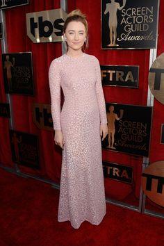 Saoirse Ronan in Michael Kors | SAG Awards Red Carpet Dresses 2016