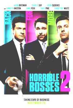 Jason Bateman, Jason Sudeikis, Chris Pine and Charlie Day star in the trailer for Horrible Bosses The guys take up kidnapping and Jennifer Aniston's dentist is still naughty. Charlie Day, Movies And Series, New Movies, Good Movies, Movies Online, 2016 Movies, Upcoming Movies, Movies Free, Chris Pine