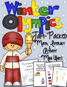 Winter Olympics 2014 Jam-Packed Mini-Unit! from Engaging Lessons on TeachersNotebook.com -  (62 pages)  - Get your lessons planned early for the 2014 Winter Olympics.  This Jam-Packed Mini-Unit comes with a Fact Reader Activity Booklet that tells about the Winter 2014 Winter Olympics and includes great activities for the students to do on each page!  Also inc