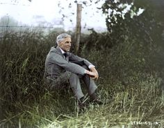 Impressionnant ! 54 photos colorisées venues tout droit du siècle dernier... Celle d'Albert Einstein va vous faire rêver !