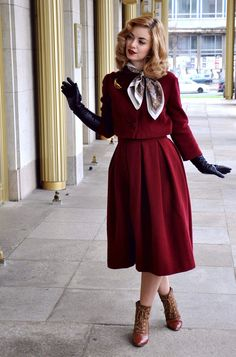Pictures from my shooting in #VintageStyle clothing by Prettie Lanes: http://vintagemaedchen.de/50er-jahre-stil/. #50s