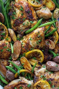 Really nice recipes. Every hour. — BRAISED CHICKEN WITH GREEN BEANS AND POTATOES...