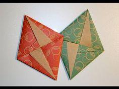 ▶ Origami - Lettre-enveloppe déco - YouTube