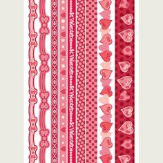 Valentine's DAy Scrapbook Borders ***Free Downloads*** ♥ adorable!