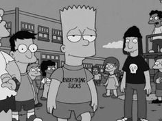 simpsons, grunge, and bart kép