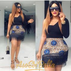 Here are some lovely admirable ankara styles for the hot ladies, they come in different colours and designs and can make your fashion life glow more. African Print Skirt, African Print Dresses, African Print Fashion, Modern African Fashion, Short African Dresses, Latest African Fashion Dresses, Ankara Fashion, African Attire, African Wear
