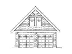 Garage Loft Plan, 010G-0006