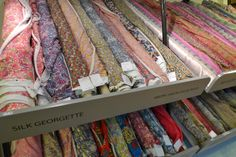 Tilly and the Buttons: Fabric Shopping in London