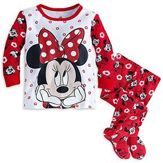 Disney Baby Minnie Mouse Footed PJ PALS Pajamas 1218 MO Red -- You can get more details by clicking on the image. (This is an affiliate link) Disney Baby Clothes, Cute Baby Clothes, Disney Outfits, Teen Outfits, Disney Girls, Baby Disney, Disney Disney, Baby Girl Romper, Baby Girls