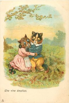 The Babes in the Woods| by Louis Wain
