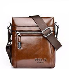 GENUINE LEATHER Leisure Men's Business Bag