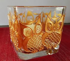 Hand Painted Golden Owl Candle Holder (candle included). These beautiful candles make the perfect addition to any decor. They also make amazing:
