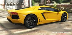 Lamborghini Aventador by Fateh Merrad modeled in SolidWorks, rendered in KeyShot.