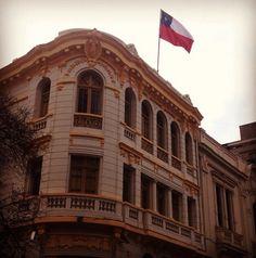 mi banderita chilena
