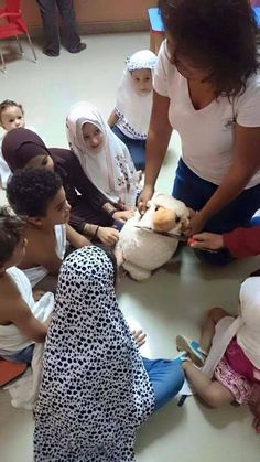 Teaching Muslim children the Art of Beheading. Murder and rape are legal and encouraged in islam.